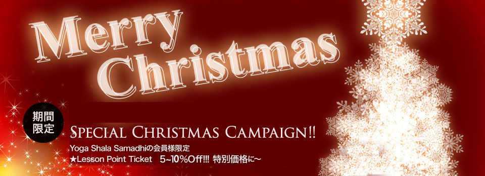 Special Christmas Campaign!!